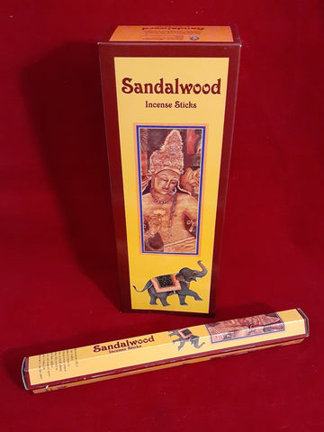 SANDALWOOD INCENSE- 20 sticks