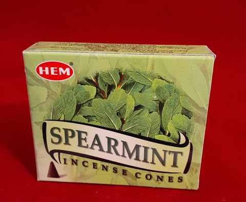 SPEARMINT INCENSE CONES