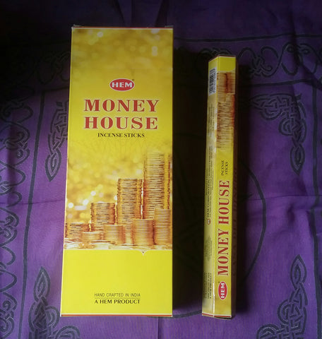 MONEY HOUSE INCENSE
