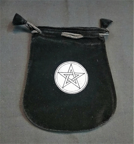 PENTACLE VELVET BAG