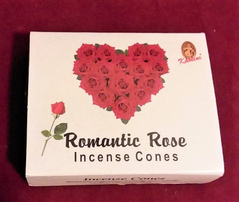ROMANTIC ROSE INCENSE CONES