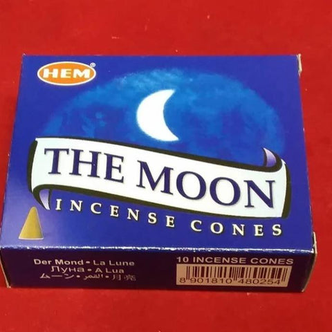 THE MOON INCENSE CONES