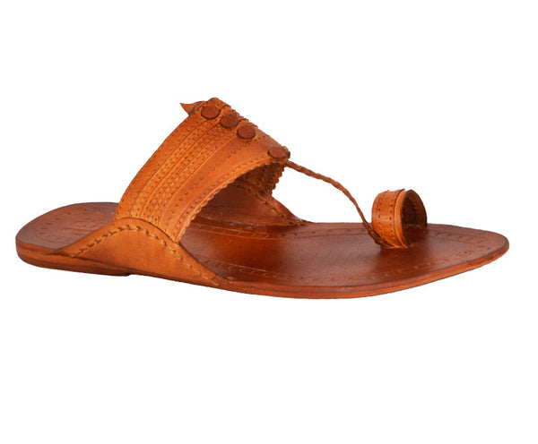 Men Tan Kolhapuri Chappal