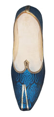 Men Blue Sherwani Mojari