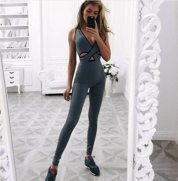 She's Back Blue Onesie-FitCover Collective
