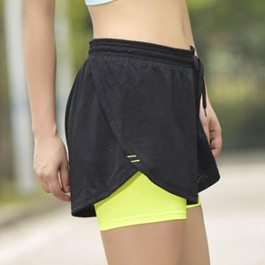 Double Layer Performance Shorts