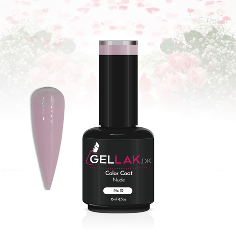 Gellak.dk Color Coat 15 ml | No. 10 'Nude'