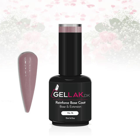 Gellak.dk Glimmer Reinforce Base Coat 15 ml | No. 76