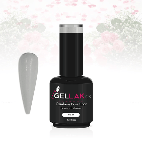 Gellak.dk Glimmer Reinforce Base Coat 15 ml | No. 88