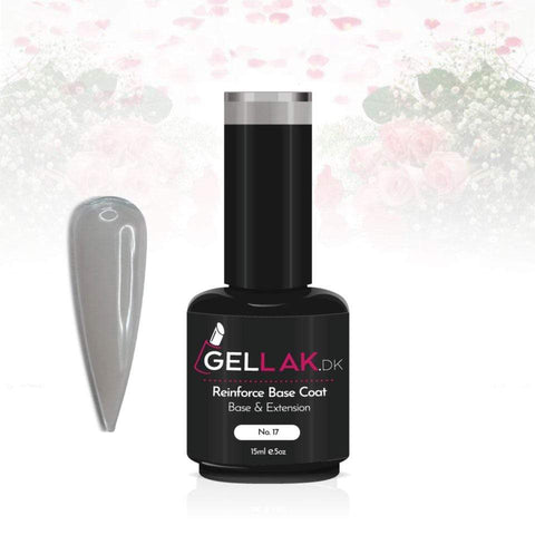 Gellak.dk Reinforce Base Coat 15 ml | No. 17