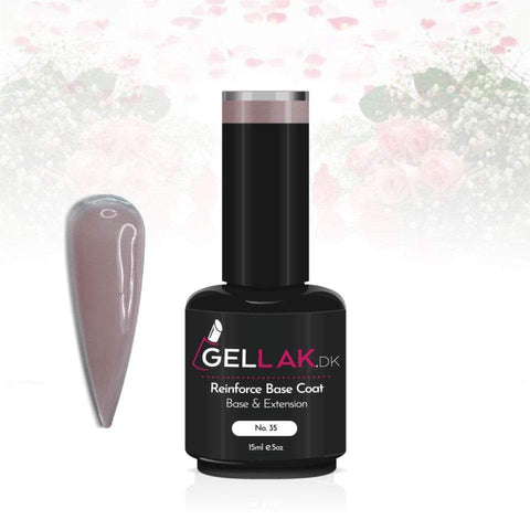Gellak.dk Reinforce Base Coat 15 ml | No. 35