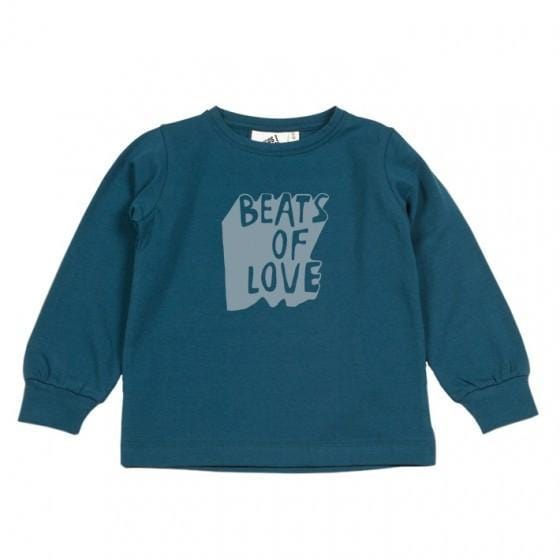 BEATS OF LOVE LONG SLEEVE T-SHIRT (56-74) en andere Kids van Cos i said so