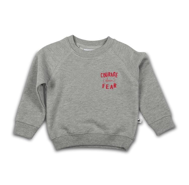 COURAGE ABOVE FEAR SWEATER en andere Kids van Cos i said so