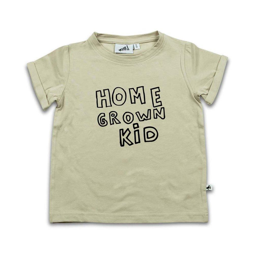 HOME GROWN KID SHORT SLEEVE T-SHIRT (verschillende kleuren) van Cos i said so