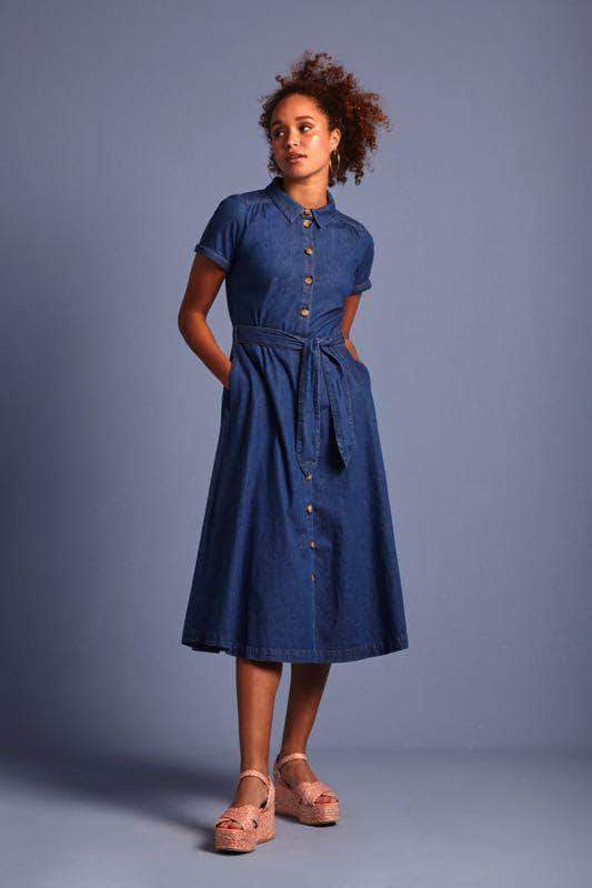 Olive Dress Chambray van King Louie