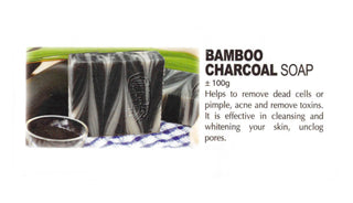 Premium Natural Handmade Bamboo Charcoal Soap +/-100g - Soul Rich Woman