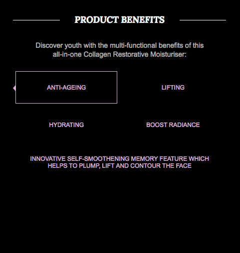 NIGHT BOOSTER - Collagen Restorative Moisturiser (Water-based) - Soul Rich Woman