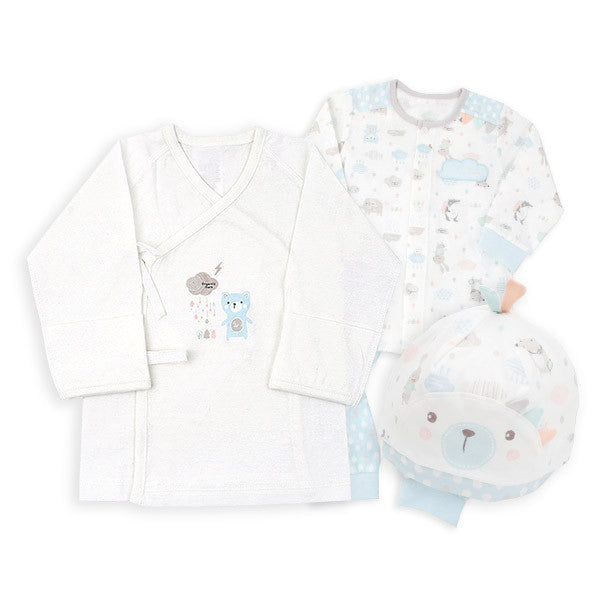 Blue Bear New Born Set