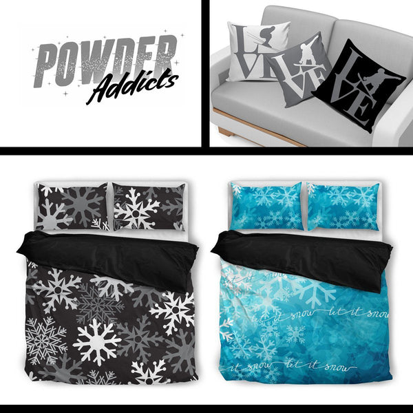 Bed Set Duvet and Pillow Covers