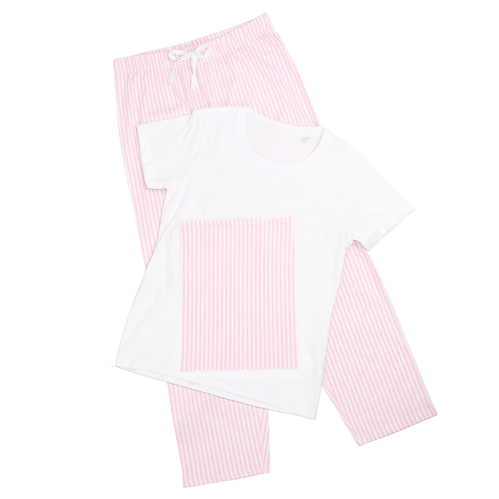 This Girl Loves Skiing Ride Like A Girl Pajama Set - Powderaddicts