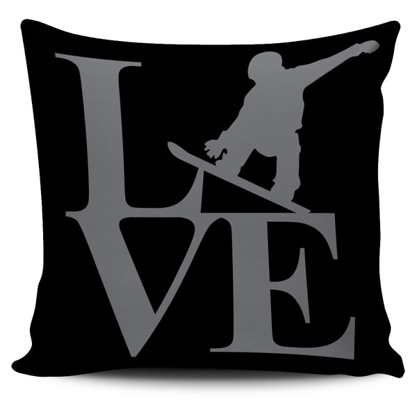 Love Snowboard Cushion Cover