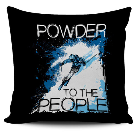Powder To The People Cushion Cover - Powderaddicts