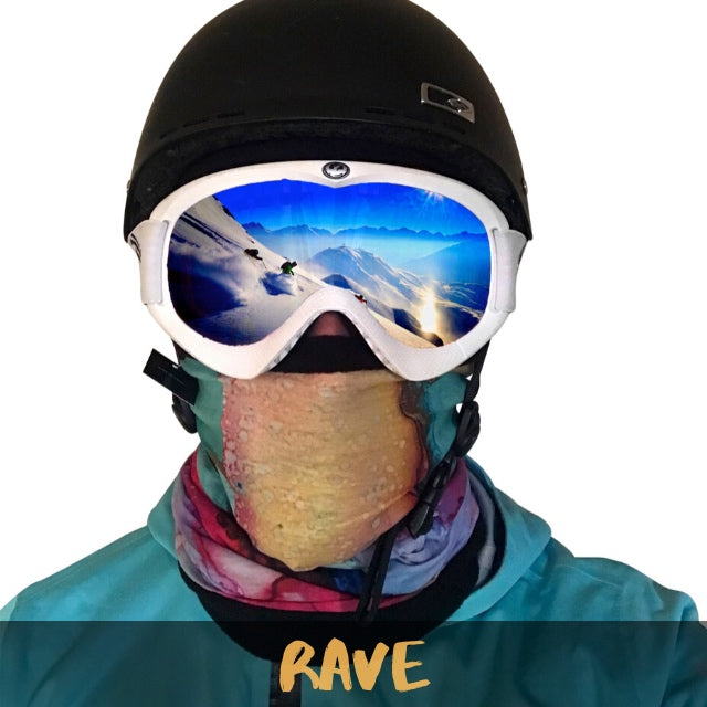 Rave Fleece Ski Gaiter - Powderaddicts