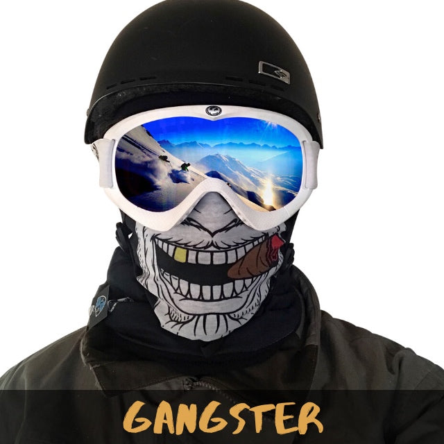 Gangster Fleece Ski Gaiter - Powderaddicts