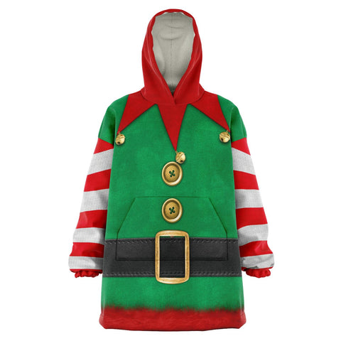 Santa's Elf Snuggie - Powderaddicts