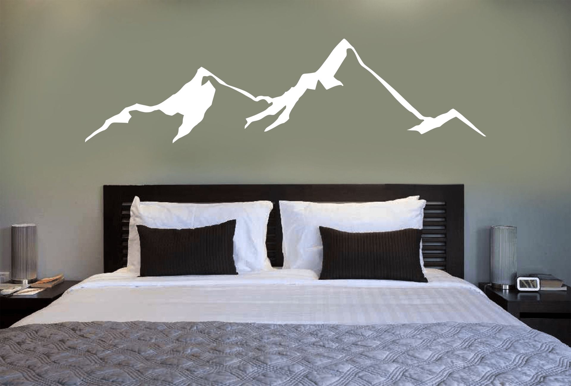 Mountain Wall Decal - Powderaddicts