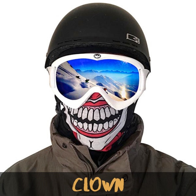Clown Fleece Ski Gaiter - Powderaddicts