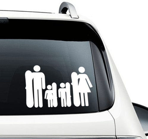 Family of Riders - Decal