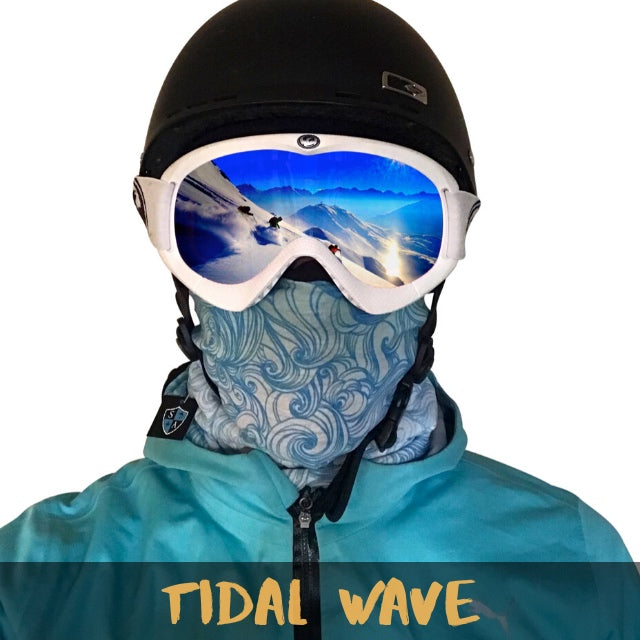 Tidal Wave Fleece Ski Gaiter - Powderaddicts