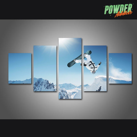 Big Air 5 Piece Canvas - Powderaddicts
