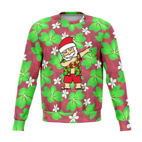 Dabbing Santa Ugly Christmas Sweater - Powderaddicts