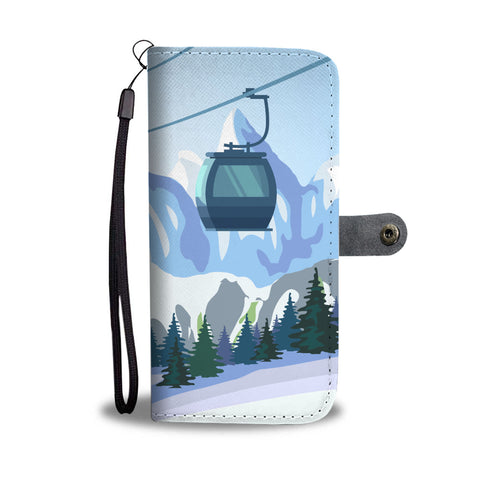 Cable Car Phone Wallet case - Powderaddicts