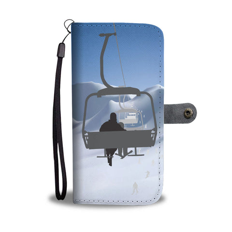 Chairlift Phone Wallet Case - Powderaddicts