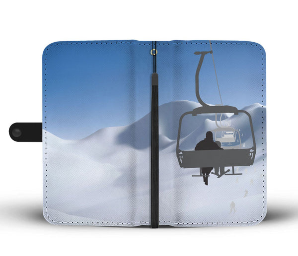 Chairlift Phone Wallet Case