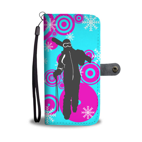 Ski Relax Phone Wallet Case - Powderaddicts