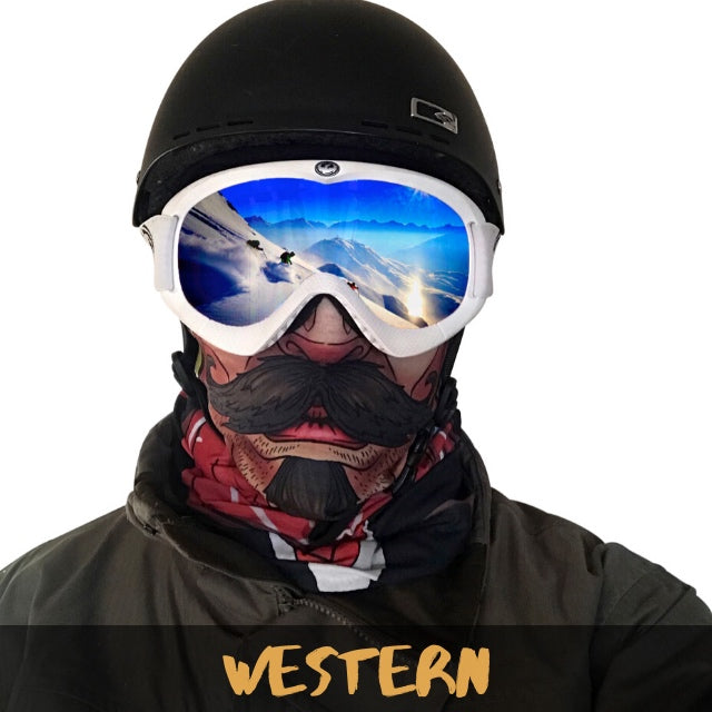 Western Fleece Ski Gaiter - Powderaddicts