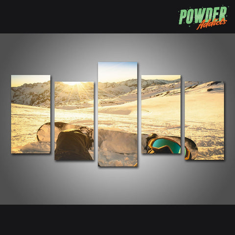 Riding Life 5 Piece Canvas - Powderaddicts