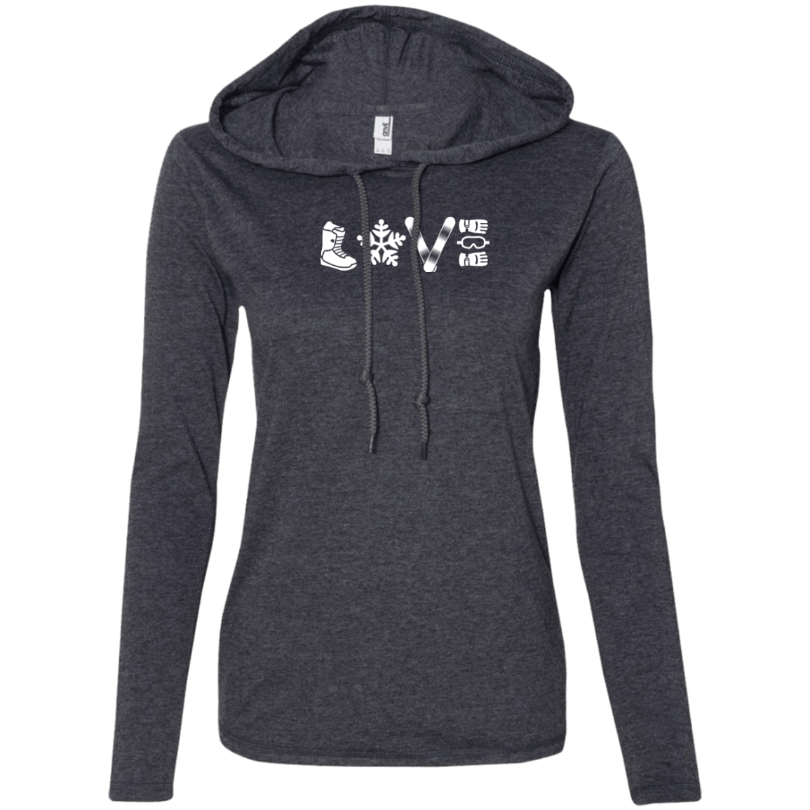 L.O.V.E. Snowboarding Hoodies - Powderaddicts
