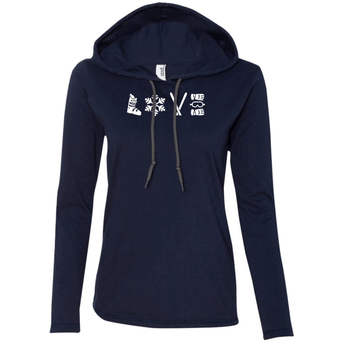 Love Ski - Hoodies - Powderaddicts