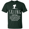 Skiing Definition Tees - Powderaddicts