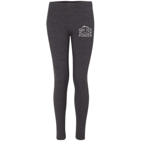 Say Yes To Powder Women's Embroidered Leggings - Powderaddicts