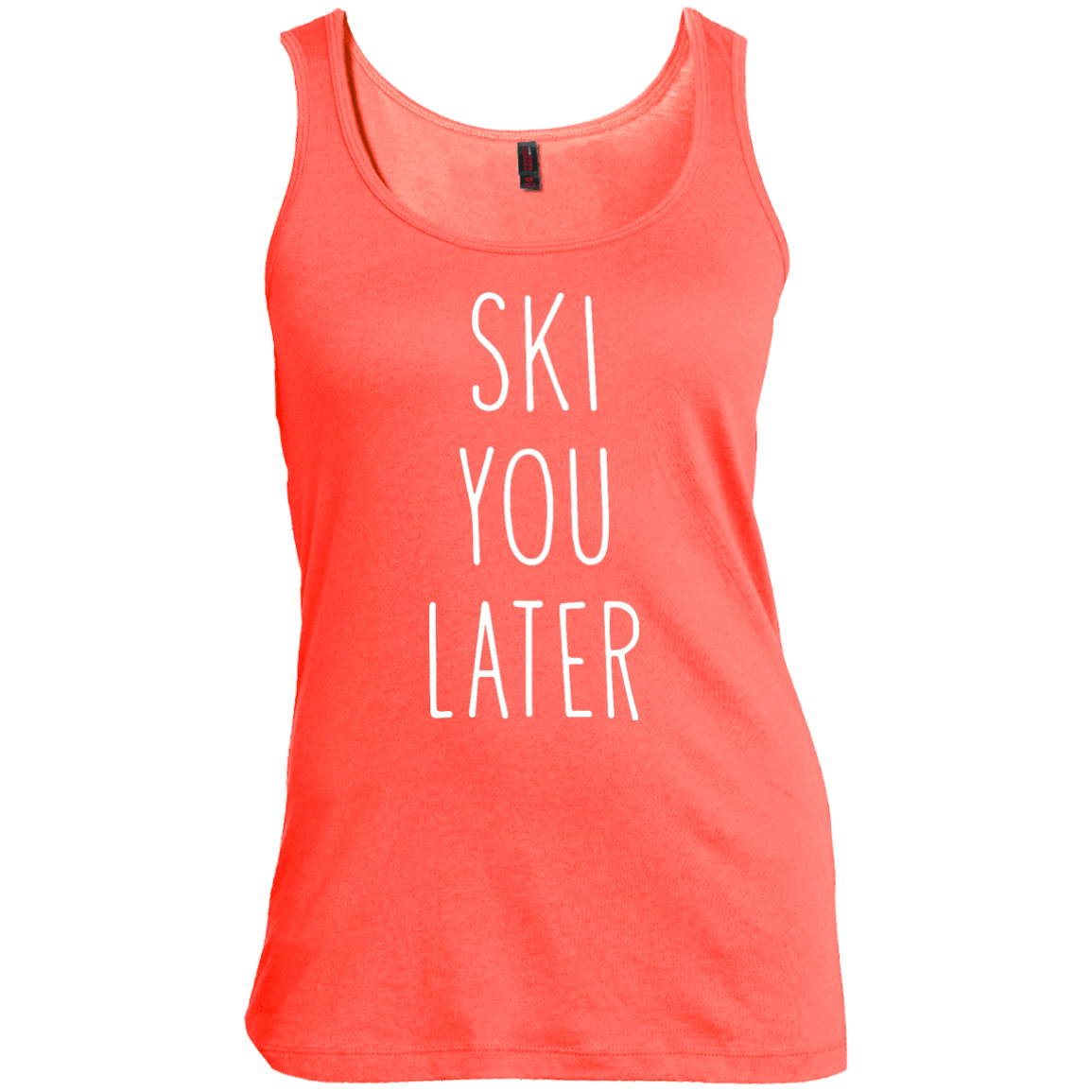 Ski You Later Tank Tops - Powderaddicts