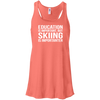 Education Is Important But Skiing Is Importanter Tank Tops - Powderaddicts