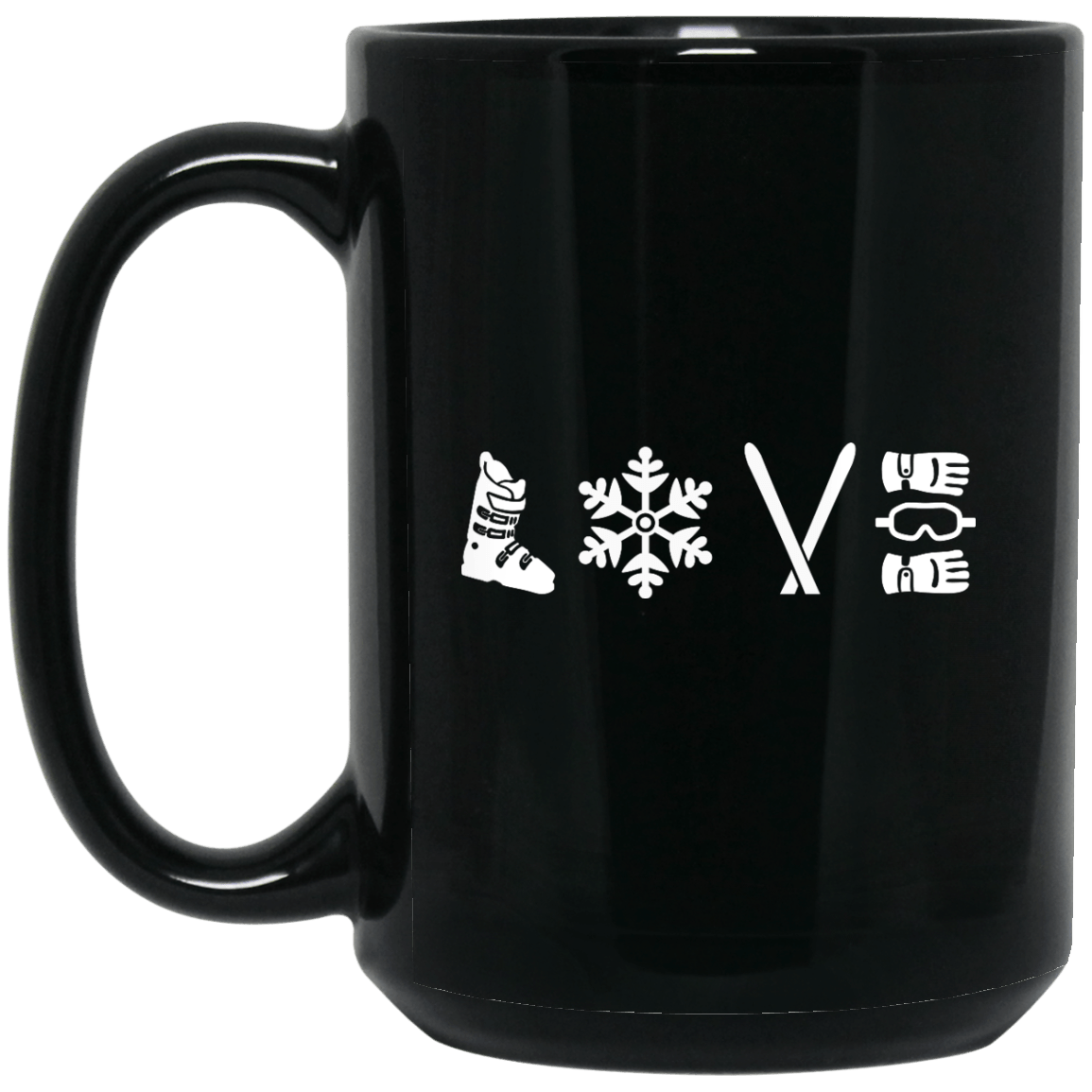 Love Ski Mug - Powderaddicts