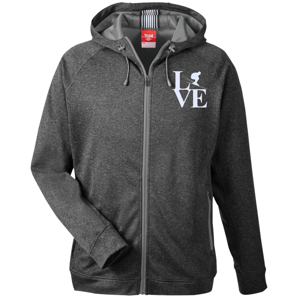 Love Ski Men's Zip Jacket - Powderaddicts
