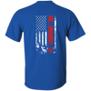 USA Snowboard Flag Youth Tees - Powderaddicts